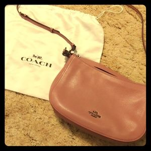 Cute pink coach purse
